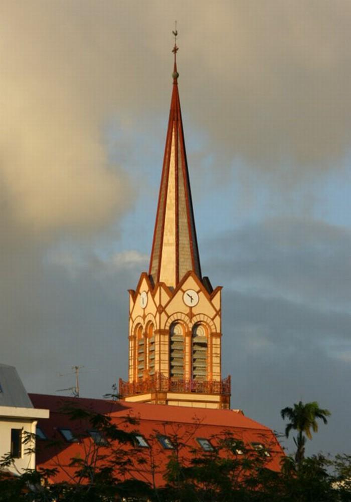 La Cattedrale di Saint-Louis,Fort de France Martinica